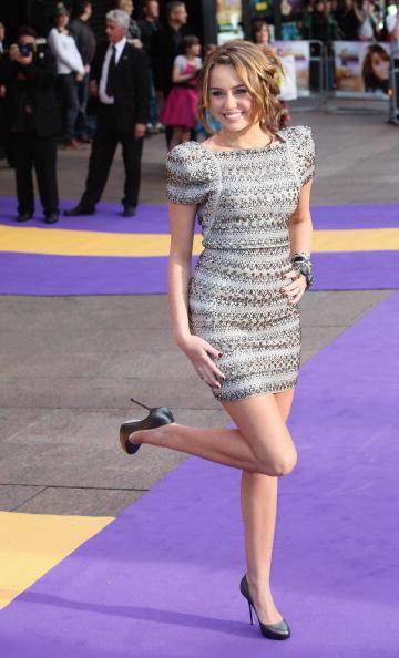High Heels「UK Film Premiere: Hannah Montana: The Movie - Outside Arrivals」:写真・画像(0)[壁紙.com]