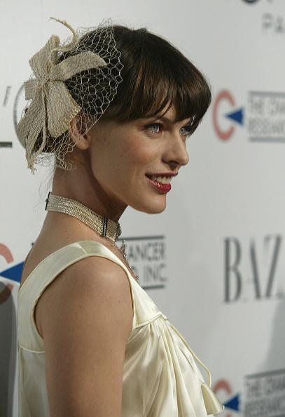 ミラ・ジョヴォヴィッチ「L'oreal Paris Presents 'As Seen In... Harper's Bazaar' - Arrivals」:写真・画像(9)[壁紙.com]