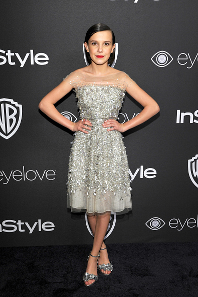 Glittering「The 2017 InStyle And Warner Bros. 73rd Annual Golden Globe Awards Post-Party - Red Carpet」:写真・画像(8)[壁紙.com]