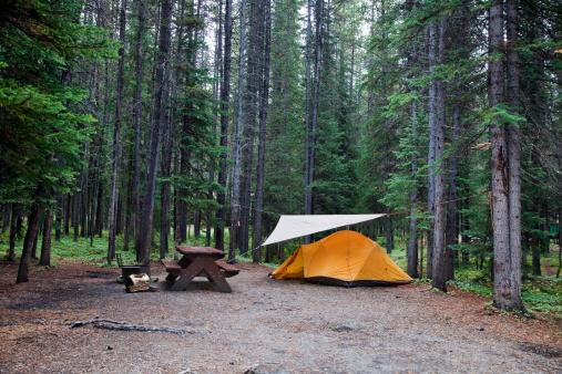 テント「Camping ground」:スマホ壁紙(8)