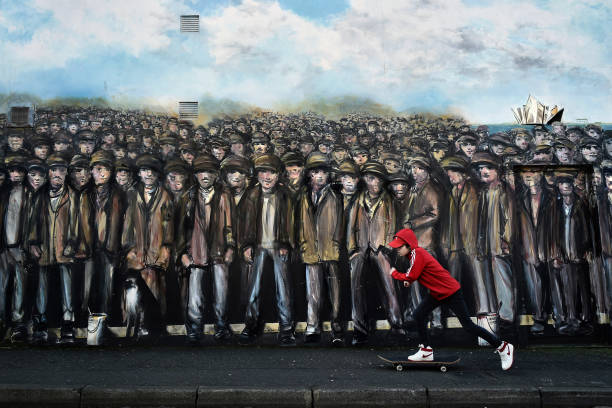 Mural Makers Reflect Belfast's Positive Future:ニュース(壁紙.com)