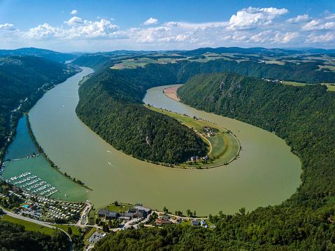 Austria「Schloegener Schlinge, Danube, Upper Austria」:スマホ壁紙(11)