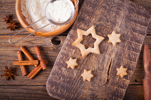 Gingerbread Cookie「Baking cookies for Christmas」:スマホ壁紙(19)