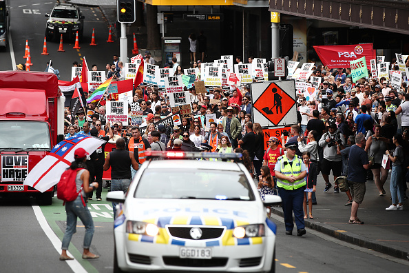 Auckland「Anti-Racists Rally Against Racism And Islamaphobia」:写真・画像(9)[壁紙.com]