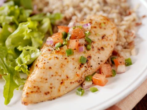 Brown Rice「Herbed Chicken Breast with Salsa」:スマホ壁紙(17)