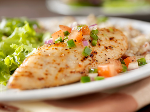Chicken Meat「Herbed Chicken Breast with Salsa」:スマホ壁紙(4)