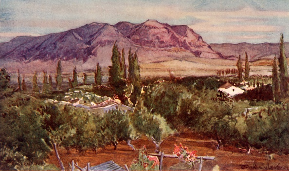West Bank「The Mount Of Temptation From Jericho」:写真・画像(10)[壁紙.com]