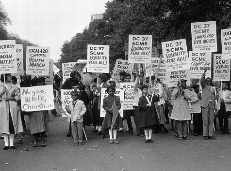 Segregation「Students March for Integrated Schools」:写真・画像(1)[壁紙.com]