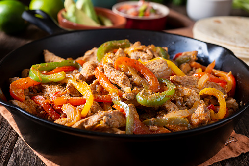 Meat Dish「Chicken Fajitas」:スマホ壁紙(6)