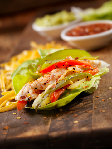 Taco「Chicken Fajita Lettuce Wrap」:スマホ壁紙(14)