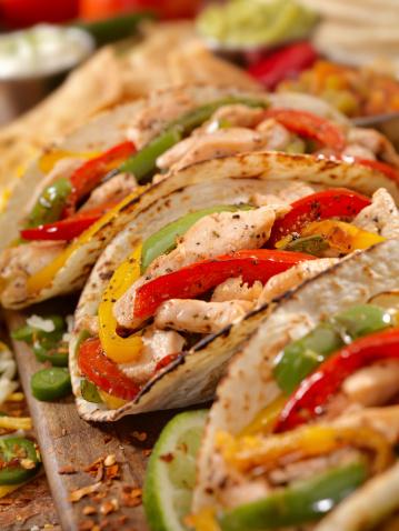 Tortilla - Flatbread「Chicken Fajitas」:スマホ壁紙(4)