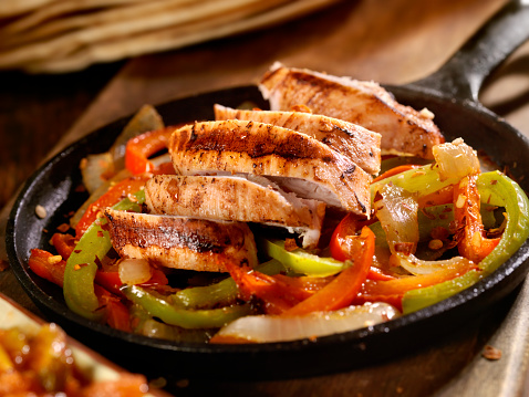 Green Bell Pepper「Chicken Fajitas」:スマホ壁紙(16)