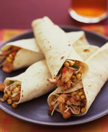 Tortilla - Flatbread「Chicken fajitas」:スマホ壁紙(13)