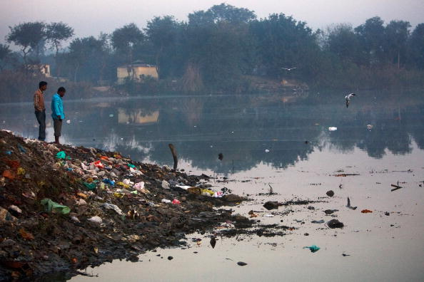 Delhi「Delhi's Yamuna River Polluted By The Overburden Of Population」:写真・画像(7)[壁紙.com]
