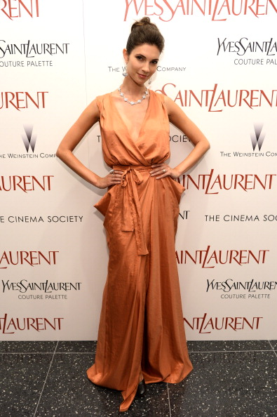 "Black Shoe「Yves Saint Laurent Couture Palette &  The Cinema Society Host The Premiere Of The Weinstein Company's ""Yves Saint Laurent"" - Arrivals」:写真・画像(3)[壁紙.com]"