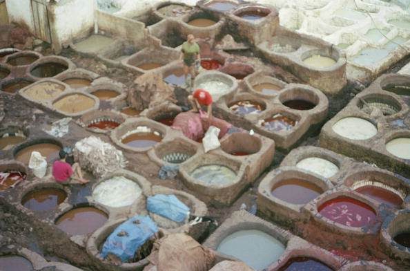 Agricultural Building「Moroccan Tannery」:写真・画像(6)[壁紙.com]
