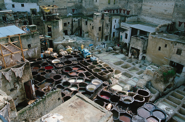 Agricultural Building「Moroccan Tannery」:写真・画像(0)[壁紙.com]