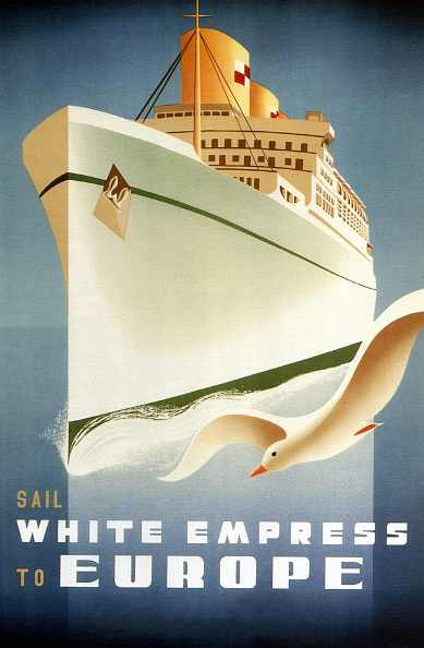Passenger Craft「'White Empress To Europe'」:写真・画像(4)[壁紙.com]