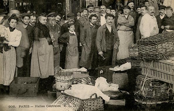 City Life「Les Halles, Paris, c. 1900」:写真・画像(0)[壁紙.com]