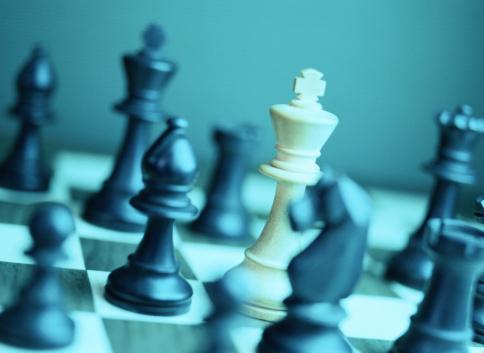 Chess「Chess Game Close-Up」:スマホ壁紙(18)
