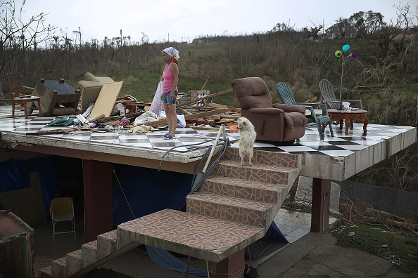 Joe Raedle「Puerto Rico Faces Extensive Damage After Hurricane Maria」:写真・画像(8)[壁紙.com]