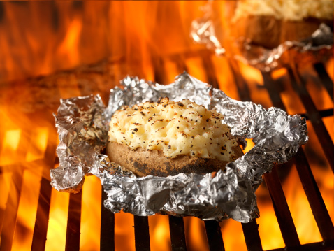 Baked Potato「Stuffed Potatoes on the BBQ」:スマホ壁紙(11)