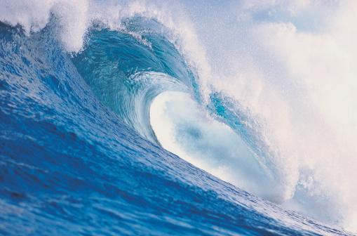波「Wave breaking」:スマホ壁紙(13)