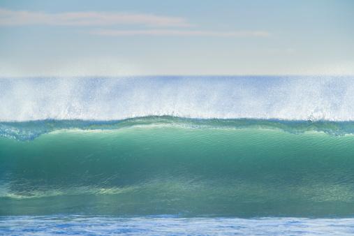 Westland - South Island New Zealand「Wave breaking, with spray」:スマホ壁紙(6)