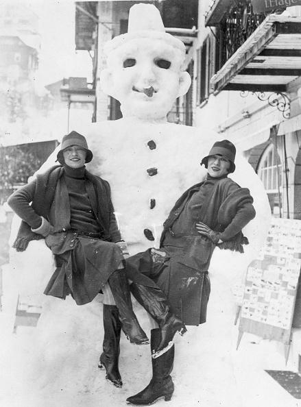 雪だるま「The Dolly Sisters」:写真・画像(17)[壁紙.com]