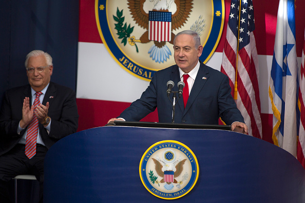 David Friedman「U.S. Embassy Formally Opens In Jerusalem On 70th Anniversary Of State Of Israel」:写真・画像(11)[壁紙.com]
