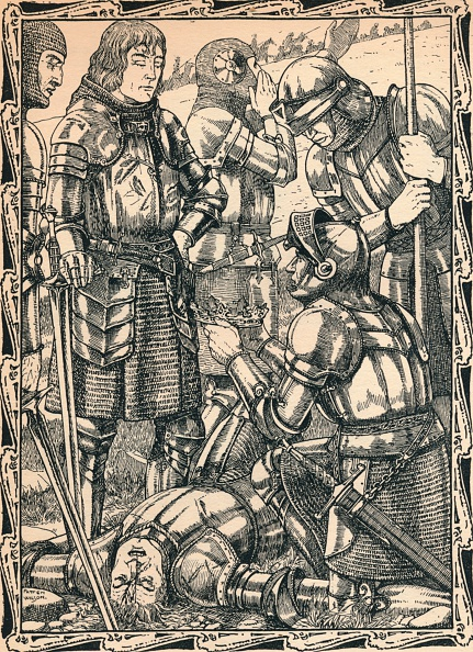 Battle「Richmond at Bosworth, 1902. Artist: Patten Wilson」:写真・画像(12)[壁紙.com]