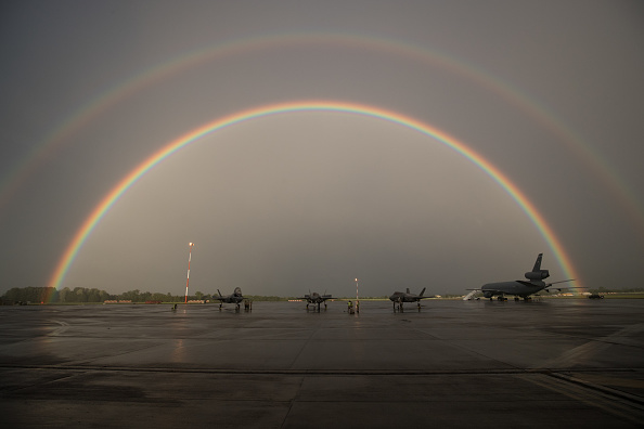 New「F-35 Lightning II's Arrive In The UK」:写真・画像(9)[壁紙.com]