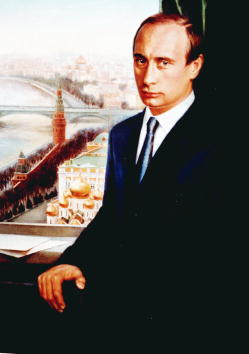 Politician「The First Official Portrait of Putin」:写真・画像(2)[壁紙.com]