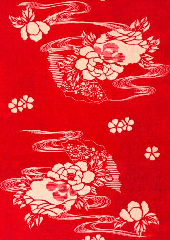 和柄「Yuzen」:スマホ壁紙(3)