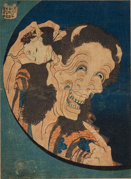 日本「Laughing Hannya (One Hundred Ghost Stories) 1831」:写真・画像(2)[壁紙.com]