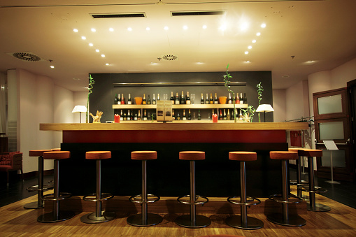 Night「Trendy modern bar」:スマホ壁紙(6)