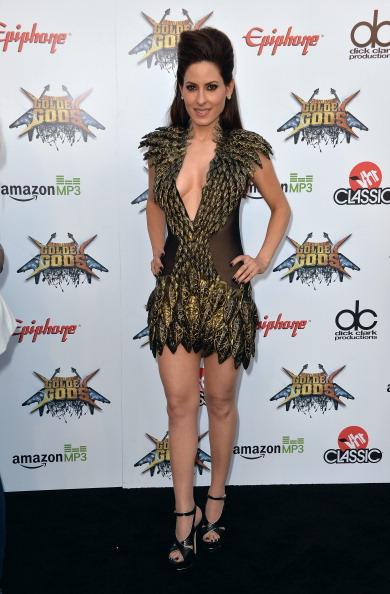 Mini Dress「6th Annual Revolver Golden Gods Award Show - Arrivals」:写真・画像(4)[壁紙.com]