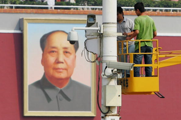 Surveillance「Tiananmen Square Decorated For National Day」:写真・画像(4)[壁紙.com]