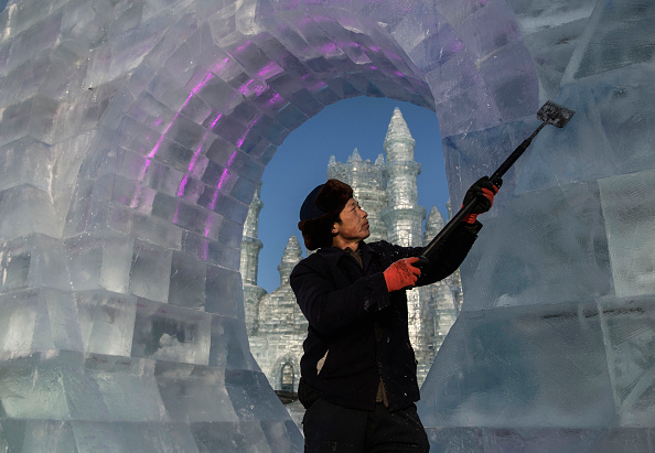Harbin「Workers In China Prepare For World's Largest Ice Festival」:写真・画像(10)[壁紙.com]