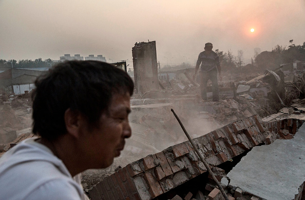 Finance and Economy「Villages Demolished to Make Way for Beijing Expansion」:写真・画像(11)[壁紙.com]