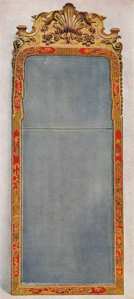 Costume Jewelry「'A Very Rare Pier Glass of c1720 in frame decorated with Red Lacquer', c1720, (1936)」:写真・画像(8)[壁紙.com]