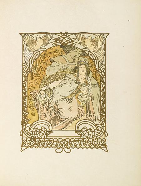アールヌーボー「Ilsée, Princesse de Tripoli by Robert de Flers, 1897」:写真・画像(3)[壁紙.com]