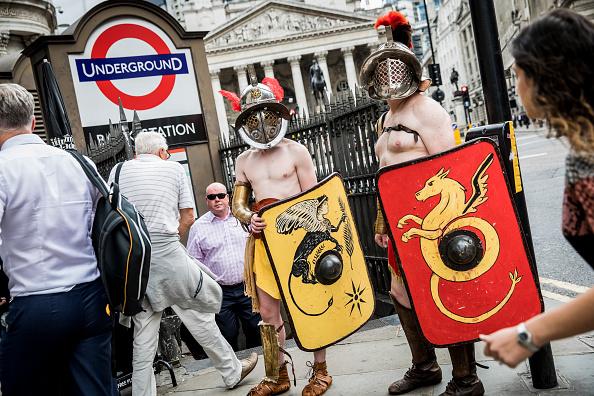 Tristan Fewings「Museum of London: Gladiator Games Photocall」:写真・画像(16)[壁紙.com]