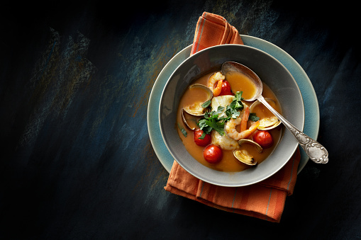 Scallop「Seafood: Fish Stew Still Life」:スマホ壁紙(18)