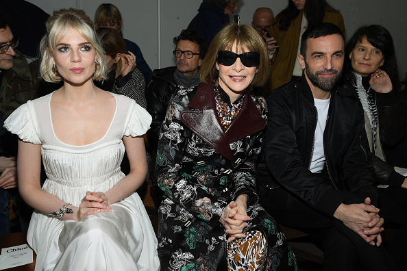 Womenswear「Chloe : Front Row - Paris Fashion Week Womenswear Fall/Winter 2020/2021」:写真・画像(18)[壁紙.com]