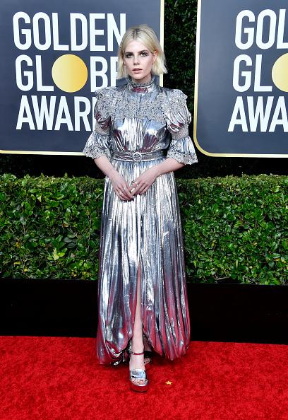 銀色のドレス「77th Annual Golden Globe Awards - Arrivals」:写真・画像(0)[壁紙.com]