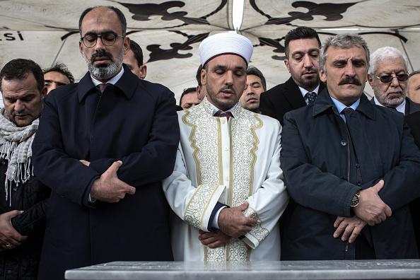 Diplomacy「Khashoggi Mourners Hold Absentee Funeral in Istanbul」:写真・画像(10)[壁紙.com]