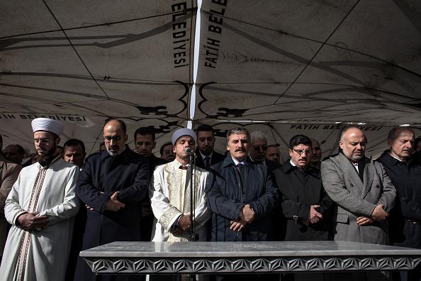 Diplomacy「Khashoggi Mourners Hold Absentee Funeral in Istanbul」:写真・画像(11)[壁紙.com]