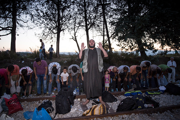 Land Vehicle「Migrants Gather At Greece-Macedonia Border As They Continue Their Journey Into Europe」:写真・画像(19)[壁紙.com]