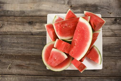 スイカ「Sliced watermelon」:スマホ壁紙(19)